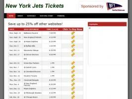 Jets Tickets