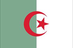 Algeria : Šalies vėliava