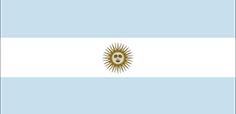 Argentina : Šalies vėliava