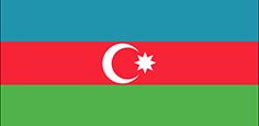 Azerbaijan : للبلاد العلم
