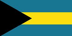 Bahamas : Šalies vėliava