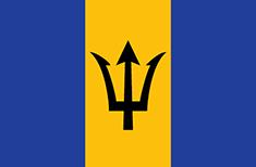 Barbados : Šalies vėliava