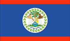 Belize : Šalies vėliava