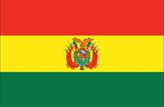 Bolivia : Šalies vėliava