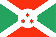 Burundi : Šalies vėliava