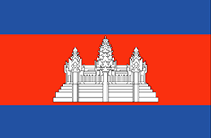 Cambodia : Šalies vėliava