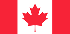 Canada : Šalies vėliava