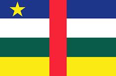Central African Republic : Šalies vėliava