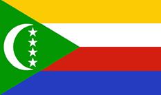 Comoros : Šalies vėliava