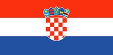 Croatia : للبلاد العلم