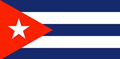 Cuba : Šalies vėliava