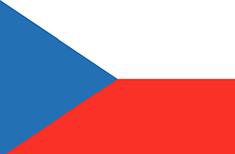 Czech Republic : للبلاد العلم