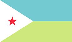 Djibouti : Šalies vėliava