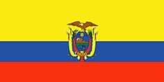 Ecuador : Šalies vėliava