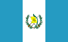 Guatemala : Šalies vėliava