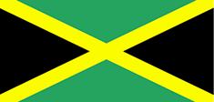 Jamaica : Šalies vėliava