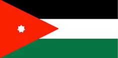 Jordan : Šalies vėliava
