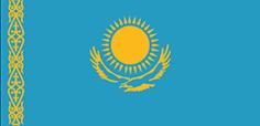 Kazakhstan : Šalies vėliava