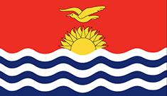 Kiribati : Šalies vėliava
