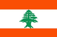 Lebanon : Šalies vėliava