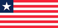 Liberia : Šalies vėliava