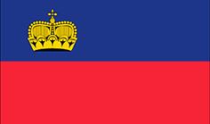Liechtenstein : Šalies vėliava