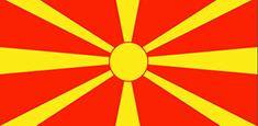 Macedonia : للبلاد العلم