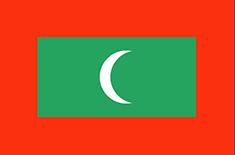 Maldives : Šalies vėliava