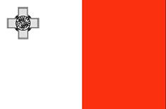 Malta : Šalies vėliava