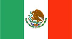 Mexico : Šalies vėliava