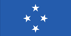 Micronesia : Šalies vėliava