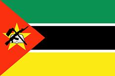 Mozambique : Šalies vėliava