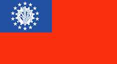 Myanmar : Šalies vėliava