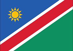Namibia : Šalies vėliava