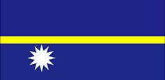 Nauru : Šalies vėliava