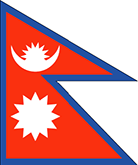 Nepal : Šalies vėliava