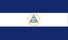 Nicaragua : Šalies vėliava