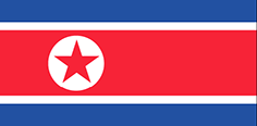 North Korea : Zemlje zastava