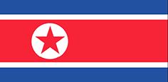 North Korea : Šalies vėliava