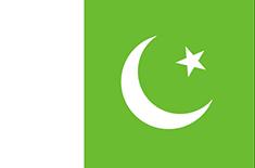 Pakistan : Šalies vėliava
