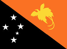 Papua New Guinea : Šalies vėliava