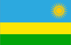 Rwanda : Šalies vėliava