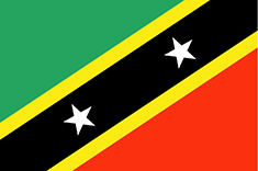 Saint Kitts and Nevis : V državi zastave