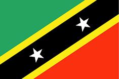 Saint Kitts and Nevis : Šalies vėliava