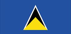 Saint Lucia : Šalies vėliava