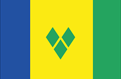 Saint Vincent and the Grenadines : Šalies vėliava
