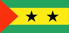 Sao Tome and Principe : Šalies vėliava