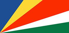 Seychelles : Šalies vėliava