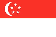 Singapore : Šalies vėliava