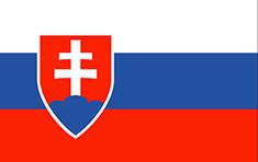 Slovakia : للبلاد العلم